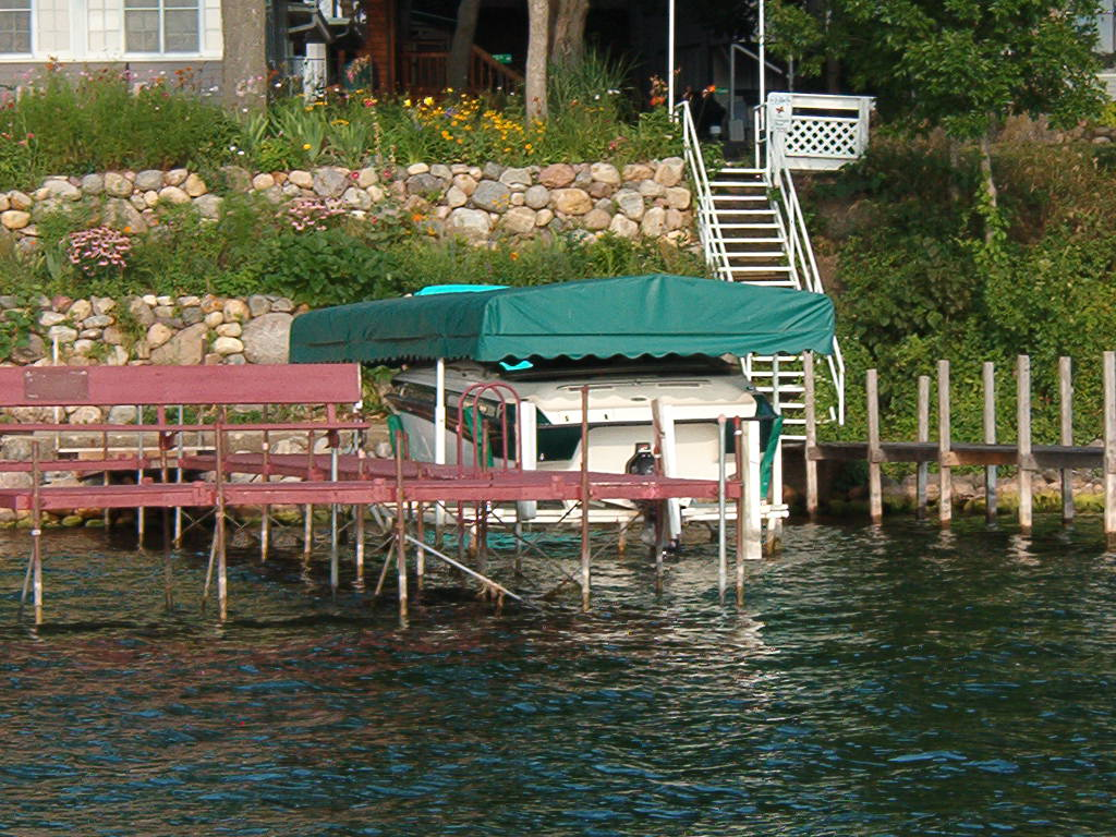Shoremaster Compatible 21 X 108 Boat Lift Canopy Cover