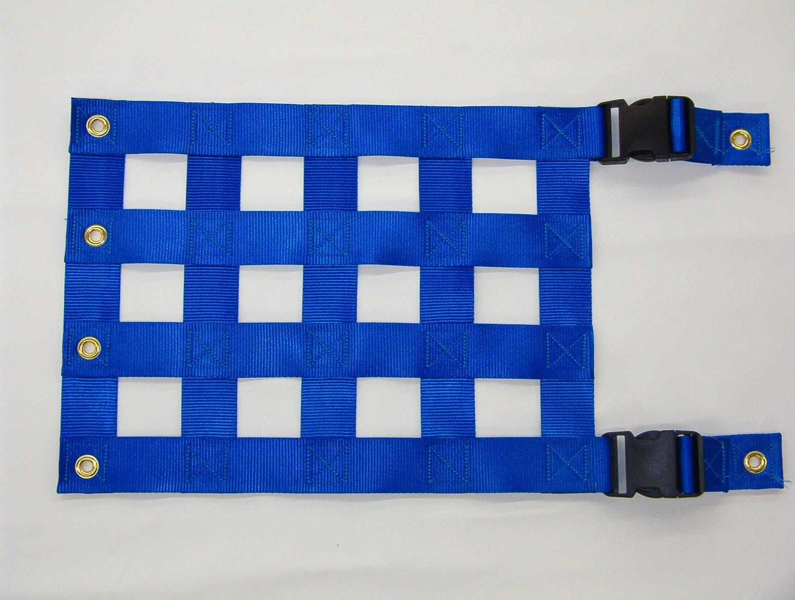 Custom made crosslay speedlay and restraint cover