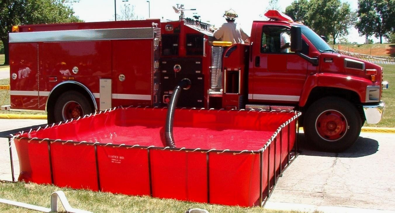 portable water tank fire apparatus product
