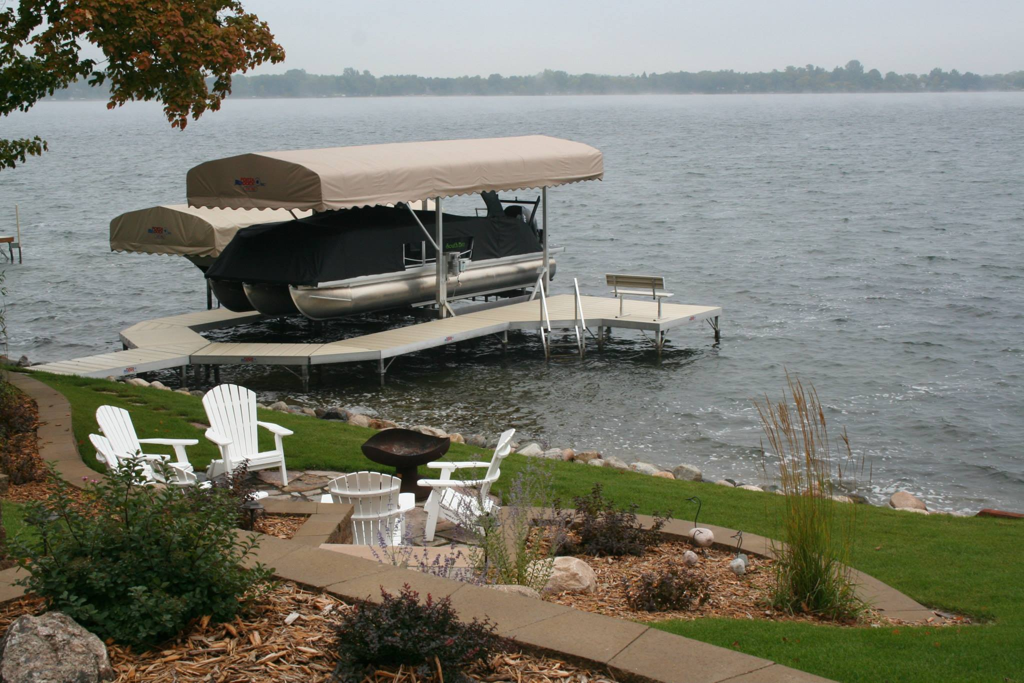 Porta Dock 24 X 114 Boat Lift Canopy Cover