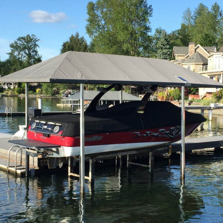 Replacement canopy for GATCO Marine Premier Boat Lift