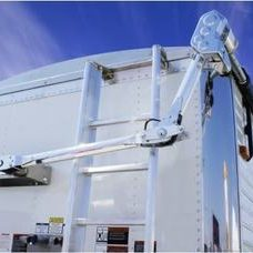 Electric roll tarp cover kit for semi trailers