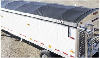 Grain Trailer Roll Tarp Manufacturer Agriculture Vinyl