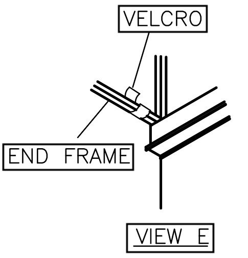 View E: Replacement Boat Lift Canopy Installation Instruction