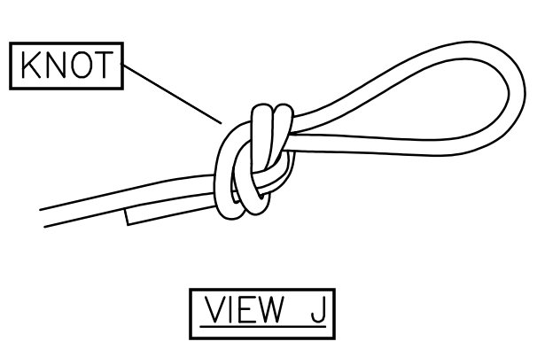View J: Replacement Boat Lift Canopy Installation Instruction